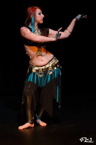 more tie night and bellydance 047-XL